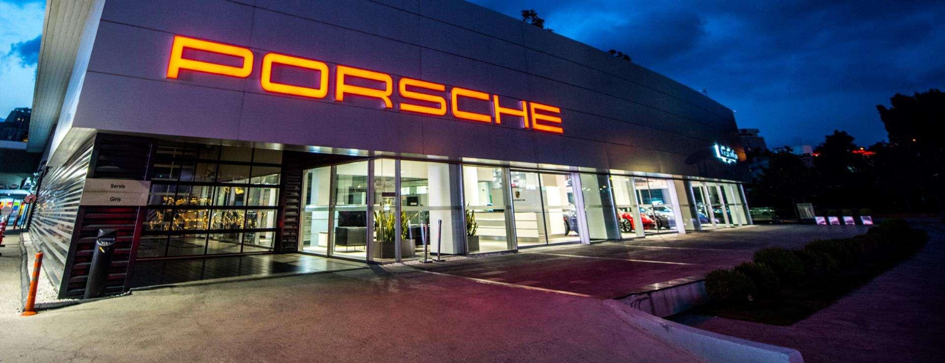 Porsche - Doğuş Oto Maslak Porsche