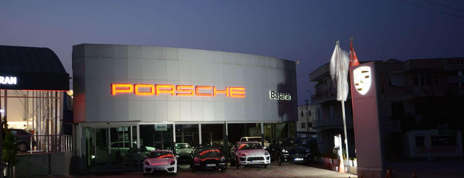 Porsche - Başaran Otomotiv Porsche